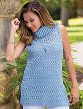 Annie's Signature Designs: Forever Cowl Tank Crochet Pattern