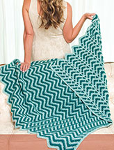 Bahama Twilight Ripple Throw
