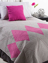 Argyle Warmth Bed Quilt