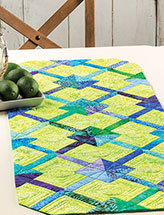Crossing Lines Table Runner Quilt Pattern