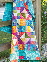 Sunset at the Beach Lap Quilt Pattern