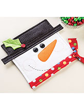 Happy Snowman Pot Holder Pattern