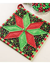 Christmas Star Pot Holder Pattern