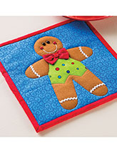 Gingerbread Boy Pot Holder Pattern