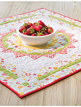 Here Comes the Sun Table Topper Pattern