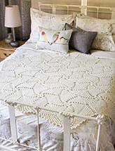 Circle of Stars Afghan Crochet Pattern