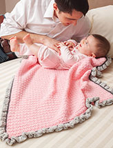 Daddy's Girl Baby Blanket Crochet Pattern