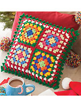 Bright & Happy Pillow Crochet pattern