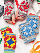 Family Mitts Crochet Patterns