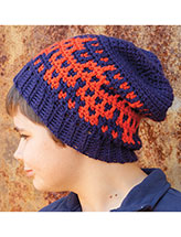 Zigzag Hat Crochet Pattern