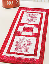 Blizzard Buddies Table Runner Pattern