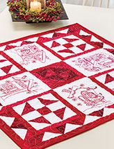 Blizzard Buddies Table Topper Pattern