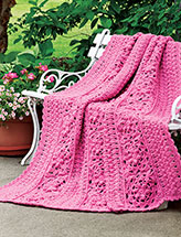 Rosy Dawn Throw