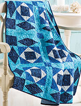 Stormy Weather Lap Quilt