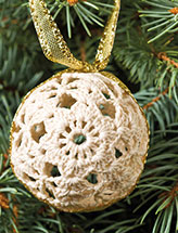 Lighted Ornament Garland Pattern