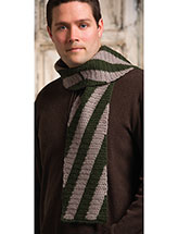 Bold Stripes Scarf Pattern
