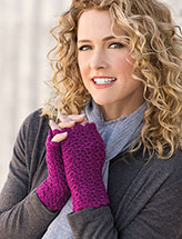 Fingers-Free Mitts Pattern
