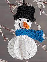 Popout Belly Snowman Pattern