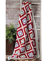 Scandinavian Christmas Throw Pattern