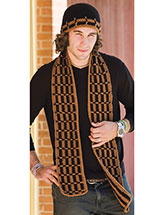 Man's Hat & Scarf Pattern