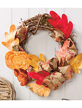 Welcome Fall Wreath Pattern