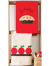 Harvest Time Tea Towels Patterns
