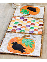 Fall's Here! & Scaredy-Cat Table Runners Pattern