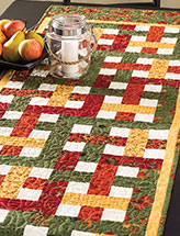 Basket Weave Table Runner Pattern