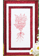 Floral Bouquet Wall Quilt Pattern