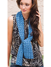 Reversible in Blue Pattern