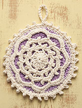 Honey Lavender Pie Hot Mat Pattern