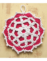 Raspberry Pie Hot Mat Pattern