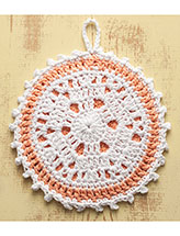 Peach Pie Hot Pad Pattern