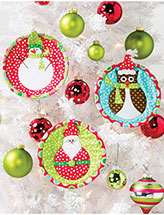Jolly Christmas Ornaments Pattern