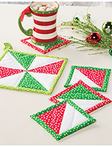 Pinwheel Pot Holder & Coaster Set Pattern