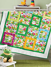 Baby Blocks Quilt Pattern