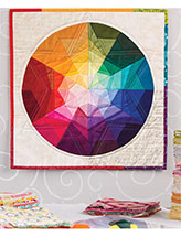 Prism Star Color Wheel Quilt Pattern