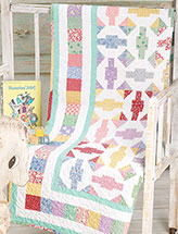 Flirty '30s Baby Quilt Pattern
