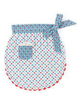 Mom's Rickrack Apron Pot Holder Pattern