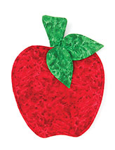 Red Ripe Apple Pot Holder Pattern