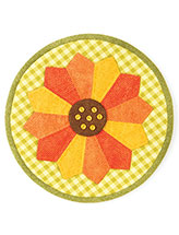 Sunny Sunflower Pot Holder Pattern