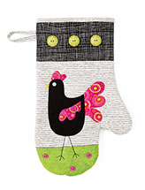 Chicken Walk Mitt Pattern