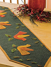 Autumn Quartet Table Runner Pattern