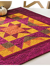 Autumn Star Table Topper Pattern