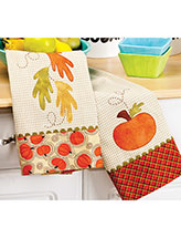 Harvest Tea Towels Pattern