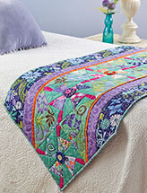 Mystic Garden Bed Runner
