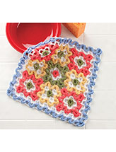 Nine Squares Dishcloth