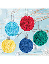 Colorful Ornaments Knitting Pattern