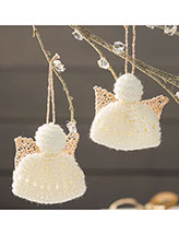 Sweet Little Angels Ornaments Knitting Pattern