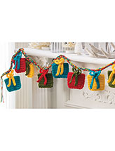 Countdown to Christmas Garland Crochet Pattern